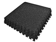 Sivan High Density Rubber Gym Tiles