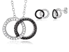Sterling Silver Circle of Life Set