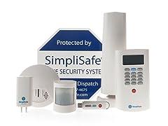 SimpliSafe2 Wireless Home Security, 8 pieces