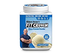 FITCRUNCH Whey Protein Powder - Vanilla