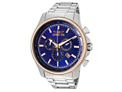 Invicta Specialty Chronograph, Blue