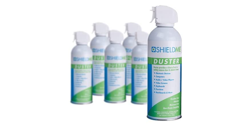 shieldme compressed air duster packs computers woot. Black Bedroom Furniture Sets. Home Design Ideas