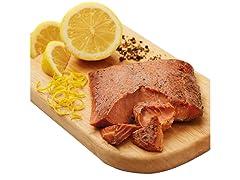 Lemon Pepper Smoked Wild Salmon