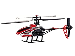 """Riviera 2.4Ghz 20"""" F46 4CH Red R/C Helicopter"""