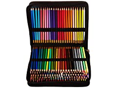 Colored Pencil Artist Set with Case (150-Piece)