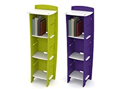 3-Shelf Bookcase - 2 Colors