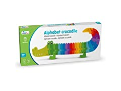 Alphabet Puzzle Crocodile Wood Toy