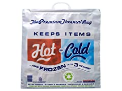 Hot Cold Bag, Insulated Thermal Cooler, Grocery Size