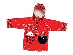 Ladybug Rain Coat