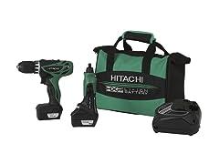 Hitachi 12-Volt Peak Mico Driver Drill & Mini Grinder
