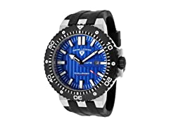 Challenger Watch, Blue / Black