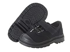 Pampa Velcro Oxford - Black (Tod 4-8)