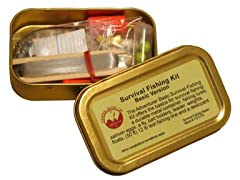 Basic Emergency Survival Fishing Kit