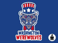 Washington Werewolves Pullover Hoodie