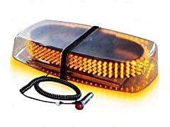 Amber 240 LED Strobe Light
