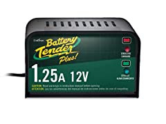 Battery Tender Plus 021-0128 1.25 Amp Battery Charger