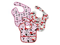 Minnie Mouse SuperBib 3-Pk