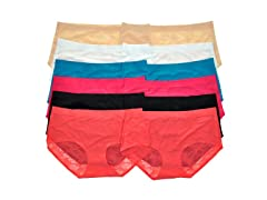 Laser Cut Mid-Rise Briefs 12-Pack