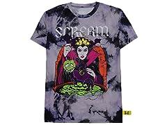 Disney Villains Evil Queen Scream TShirt