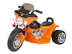 Ride on Toy, 3 Wheel Mini Motorcycle for Kids