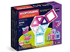 Magformers Inspire (30-pieces) Magnetic Building Set