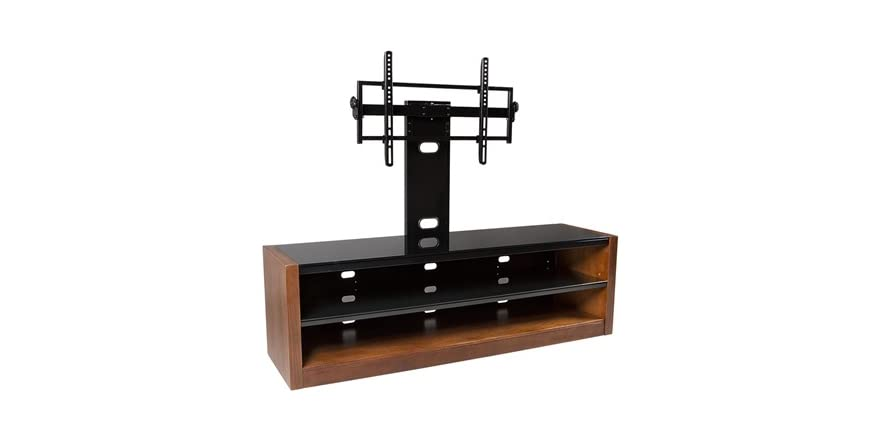 tv stand with tilt swivel mount for 42 70 tvs. Black Bedroom Furniture Sets. Home Design Ideas