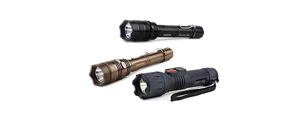 Guard Dog Stun Gun Flashlights: Your Choice
