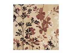 28 X 28  Beige Branches Wall Art