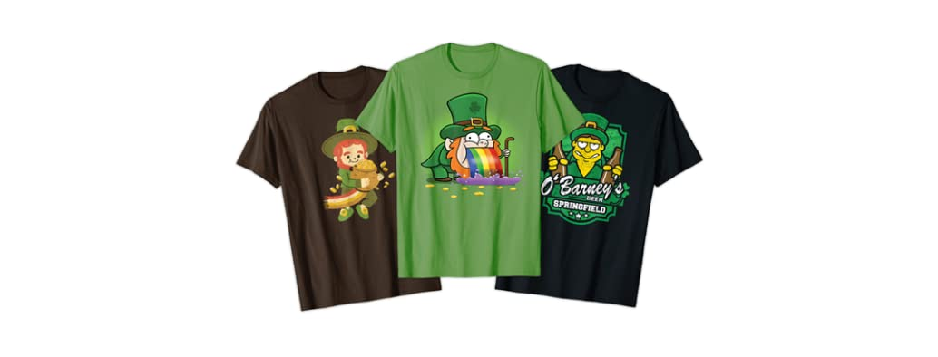Lucky St. Paddy's Day Apparel