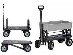Weatherproof All Terrain Cart