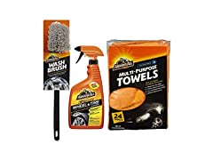 Armor All Wheel Cleaning Kit (3 pc set)
