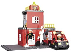 Fire Station Action Toy Play Set