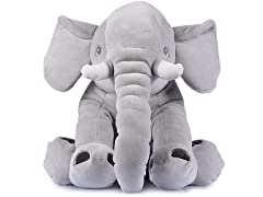 Stuffed Super Cuddly Elephant