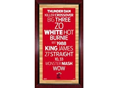 "16"" x 32"" NBA Subway Signs"