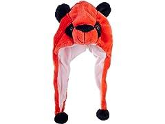 Critter Cap - Orange Bear
