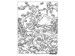 """""Ninja Sea Battle"" by DoOomcat"