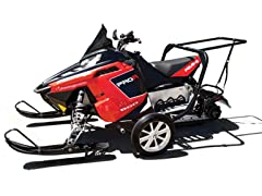 Snowmobile Monster Dolly, Black