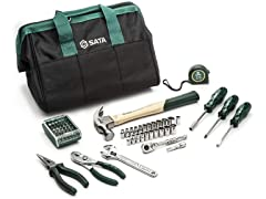 SATA 62-Piece General Purpose Tool Set