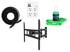 BayouTech TV Mount Bundle