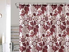 Nadia Embossed Shower Curtain