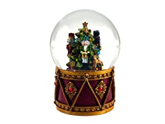 Nutcracker Drum Water Globe by