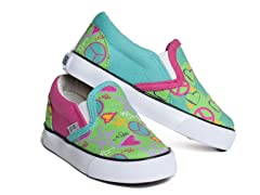Girl Doodle Too Slip-On (13-5 Youth)
