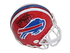 Jim Kelly Buffalo Bills Red Mini Helmet