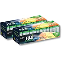 96-Pack Fuji EnviroMAX AA Batteries