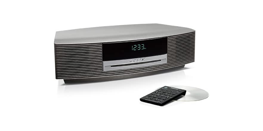 bose wave music system iii titanium silver new. Black Bedroom Furniture Sets. Home Design Ideas