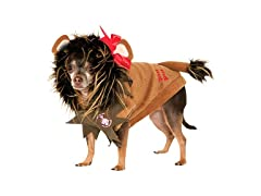 Wizard of Oz Pet Costume, X-Large, Lion