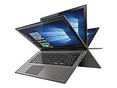 "Toshiba Radius 15"" 4K Ultra HD Convertible Laptops"