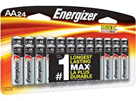 Energizer AA or AAA Batteries - 24-Pack