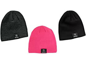 W&S BT Beanie W/ Built-In Headphones