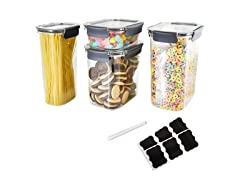 Air Tight Heavy Duty Plastic Food Container Set